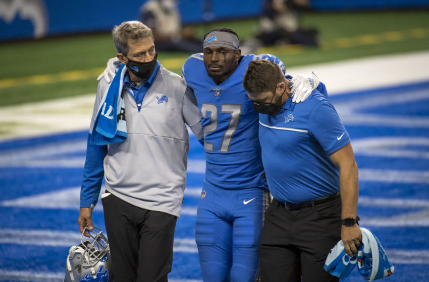 Justin Coleman, Detroit Lions (Photo by Nic Antaya/Getty Images)