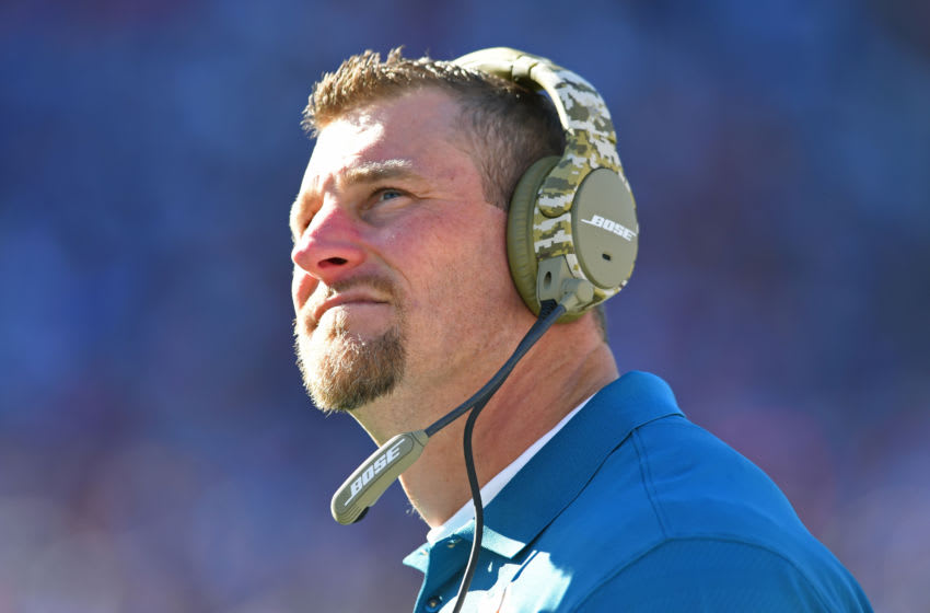 Dan Campbell, Miami Dolphins (Photo by Rich Barnes/Getty Images)