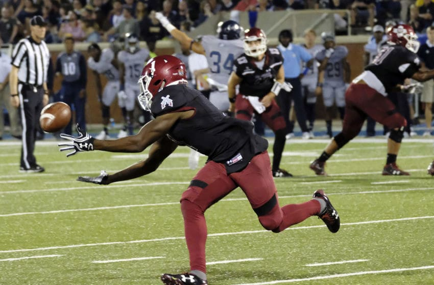 Jason Huntley, New Mexico State Aggies (Photo by Todd Bennett/Getty Images)