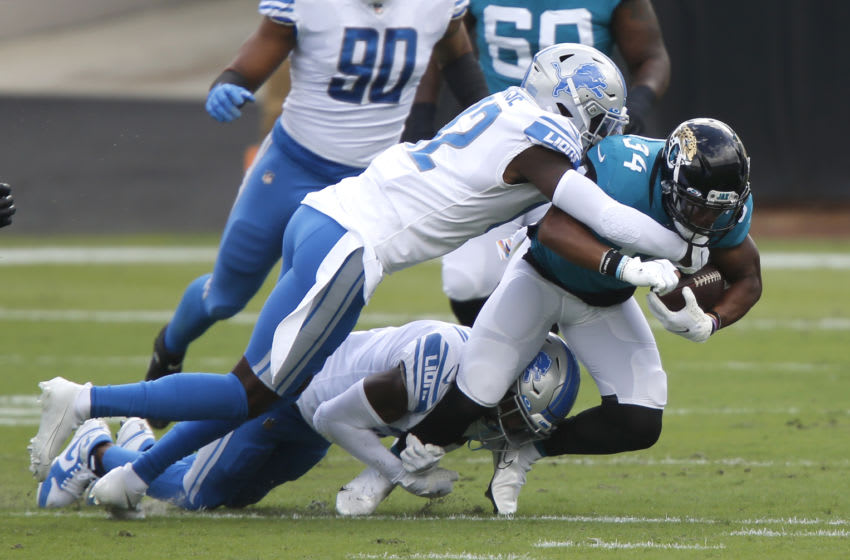 Detroit Lions safety Tracy Walker (Reinhold Matay-USA TODAY Sports)