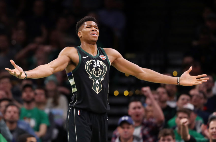 NBA Milwaukee Bucks Giannis (Photo by Maddie Meyer/Getty Images)