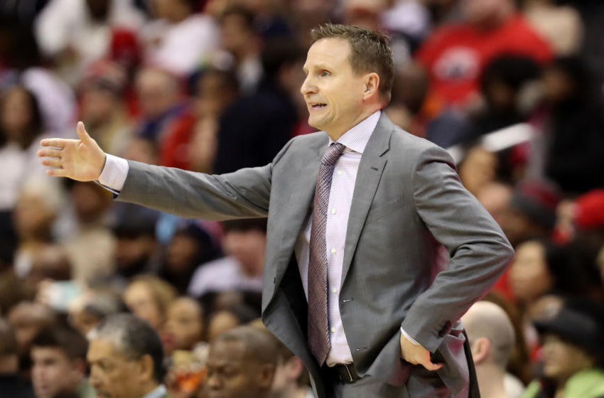 NBA Washington Wizard Scott Brooks(Photo by Rob Carr/Getty Images)