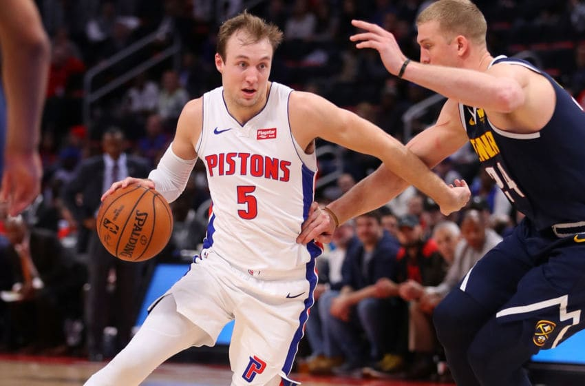 NBA Detroit Pistons Luke Kennard (Photo by Gregory Shamus/Getty Images)