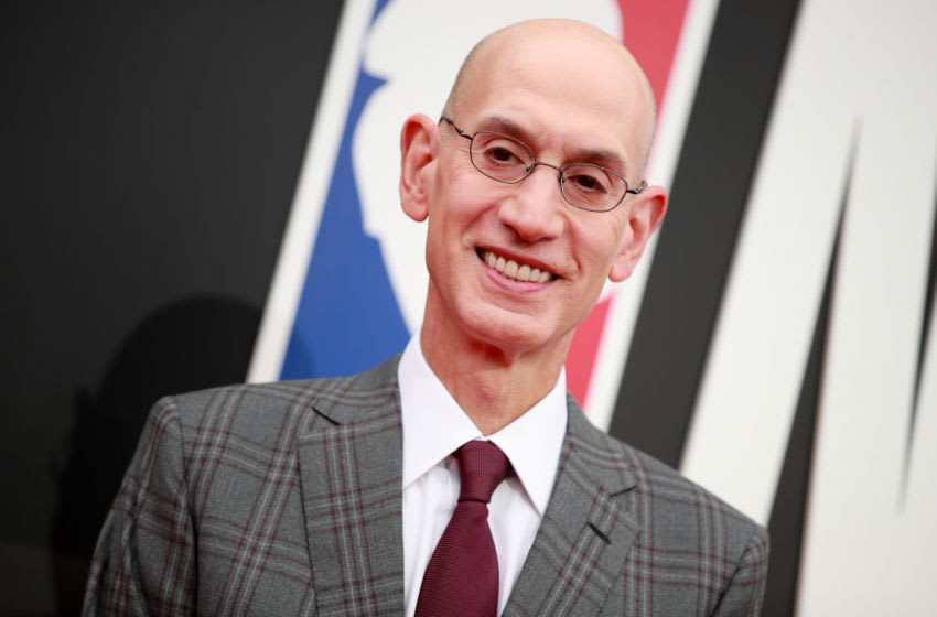 NBA Commissioner Adam Silver (Photo by Rich Fury/Getty Images)