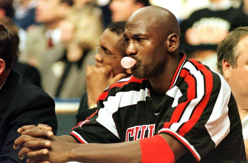 Chicago Bulls Michael Jordan (KIMBERLY BARTH/AFP via Getty Images)