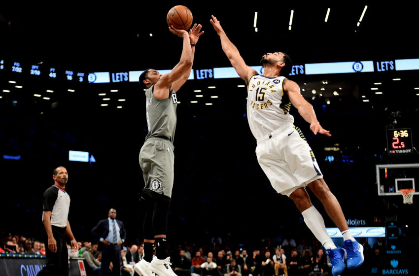 NBA Brooklyn Nets Spencer Dinwiddie (Photo by Emilee Chinn/Getty Images)