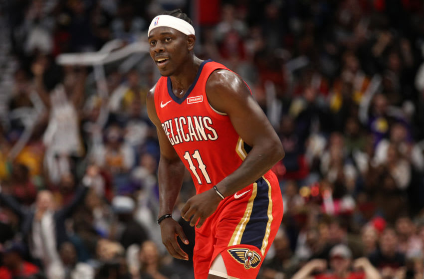 NBA New Orleans Pelicans Jrue Holiday (Photo by Chris Graythen/Getty Images)