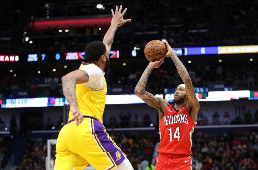 NBA New Orleans Pelicans Brandon Ingram (Photo by Chris Graythen/Getty Images)