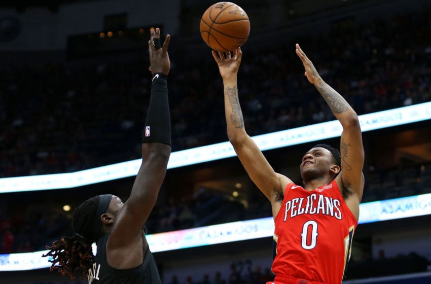 NBA New Orleans Pelicans Nickeil Alexander-Walker (Photo by Jonathan Bachman/Getty Images)