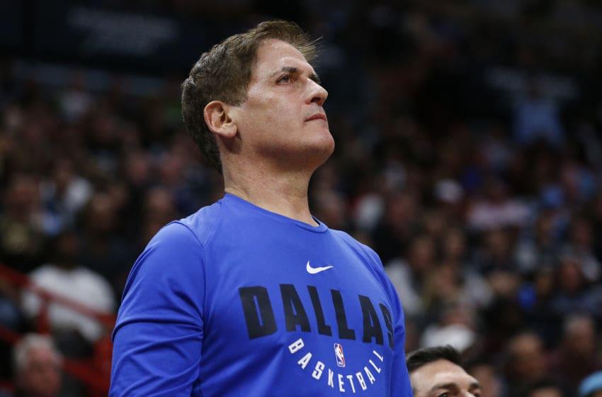 NBA Dallas Mavericks Owner Mark Cuban (Photo by Michael Reaves/Getty Images)