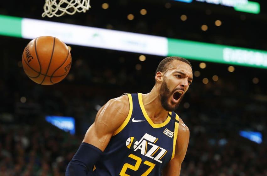 NBA Utah Jazz Rudy Gobert (Photo by Omar Rawlings/Getty Images)