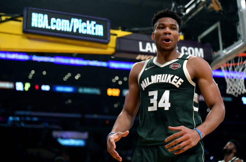 NBA Milwaukee Bucks Giannis Antetokounmpo (Photo by Harry How/Getty Images)