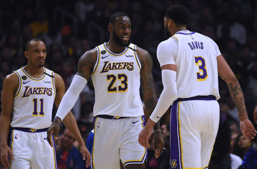 NBA Los Angeles Lakers LeBron James (Photo by Harry How/Getty Images)