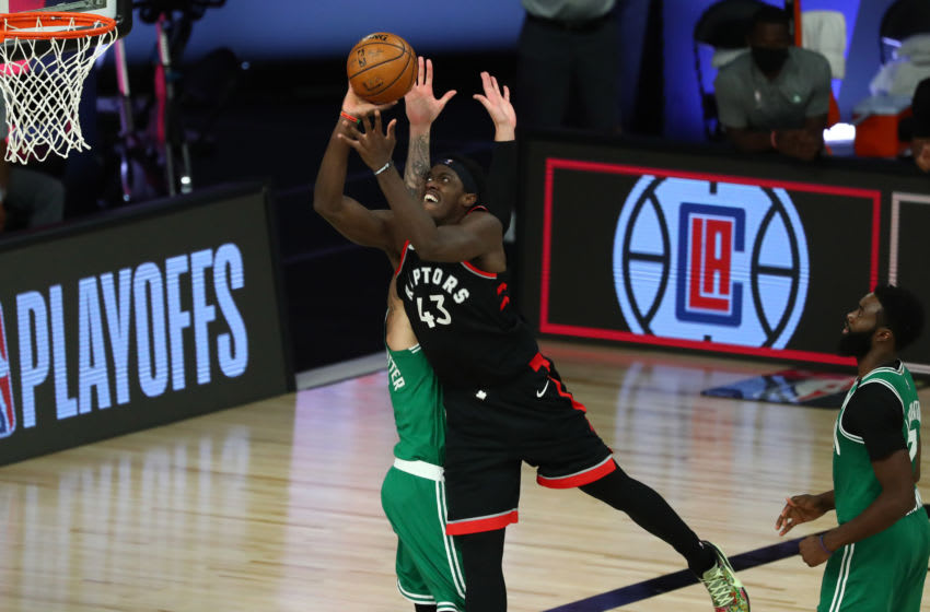Toronto Raptors Pascal Siakam (Photo by Kim Klement-Pool/Getty Images)