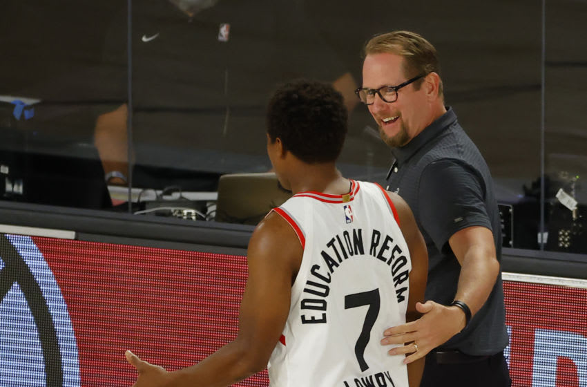 Toronto Raptors coach Nick Nurse (Photo by Kevin C. Cox/Getty Images)