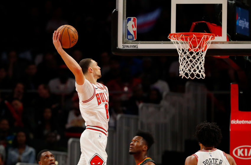 NBA Chicago Bulls Zach Lavine (Photo by Kevin C. Cox/Getty Images)