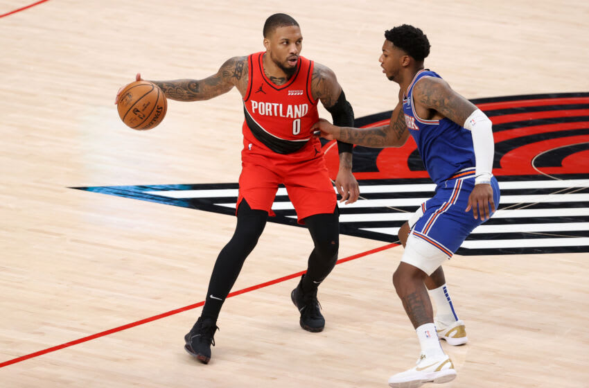 Damian Lillard (Photo by Abbie Parr/Getty Images)