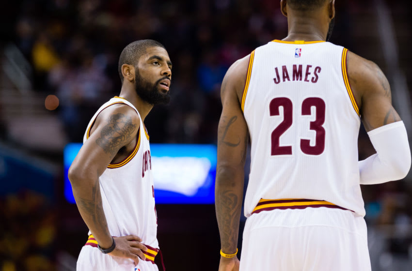 Kyrie Irving and LeBron James (Photo by Jason Miller/Getty Images)