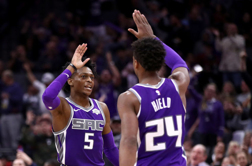 NBA Sacramento Kings De'Aaron Fox Buddy Hield (Photo by Ezra Shaw/Getty Images)