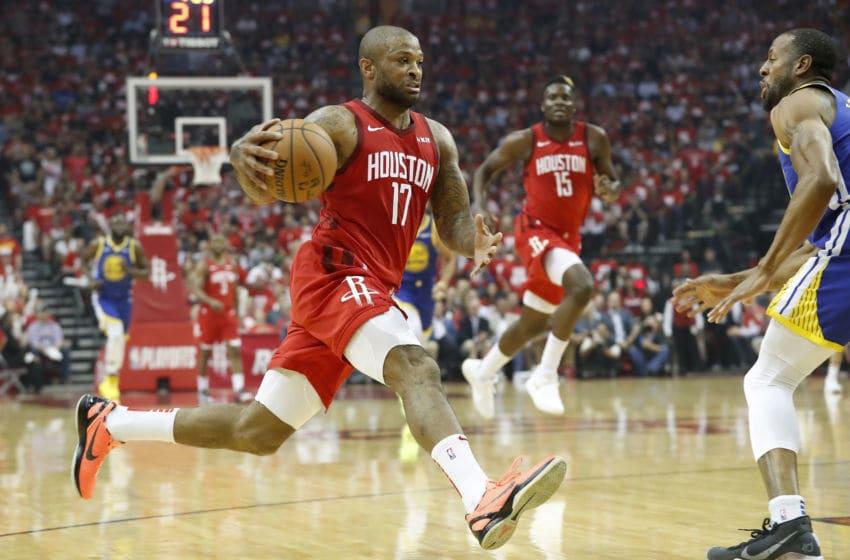 NBA Houston Rockets PJ Tucker (Photo by Tim Warner/Getty Images)