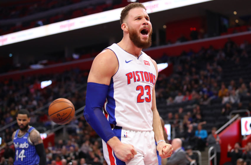 Detroit Pistons Blake Griffin (Photo by Gregory Shamus/Getty Images)