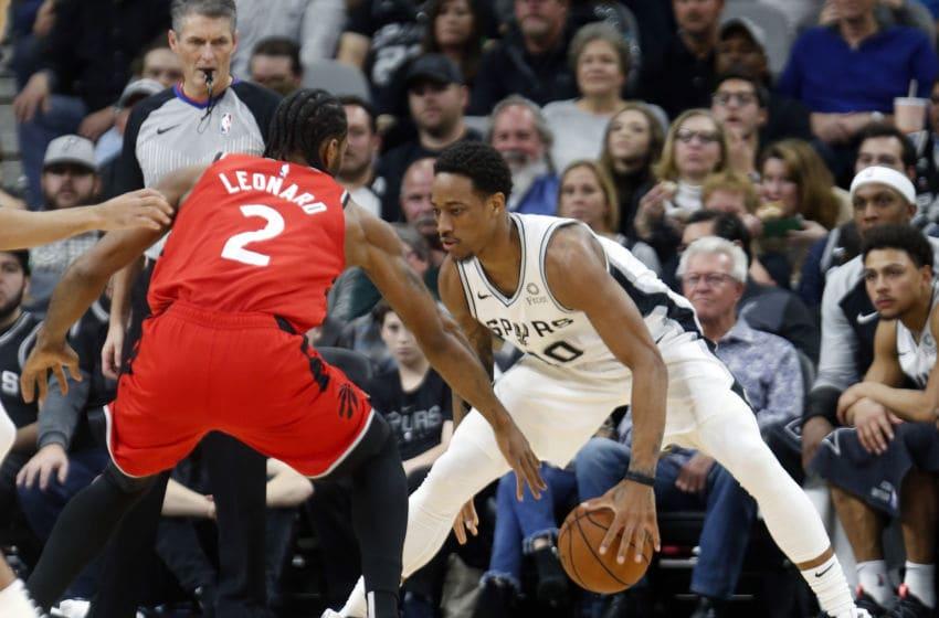 NBA San Antonio Spurs DeMar DeRozan (Photo by Ronald Cortes/Getty Images)