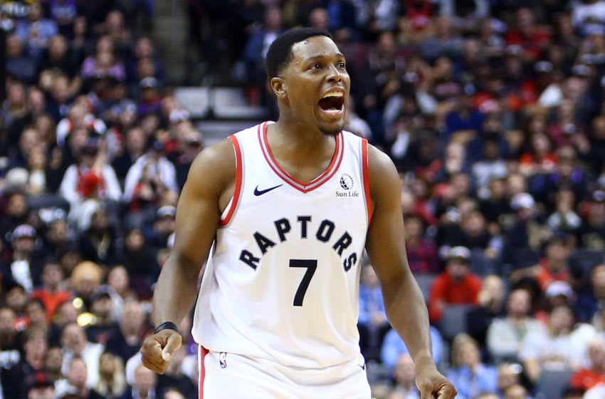 Toronto Raptors Kyle Lowry (Photo by Vaughn Ridley/Getty Images)