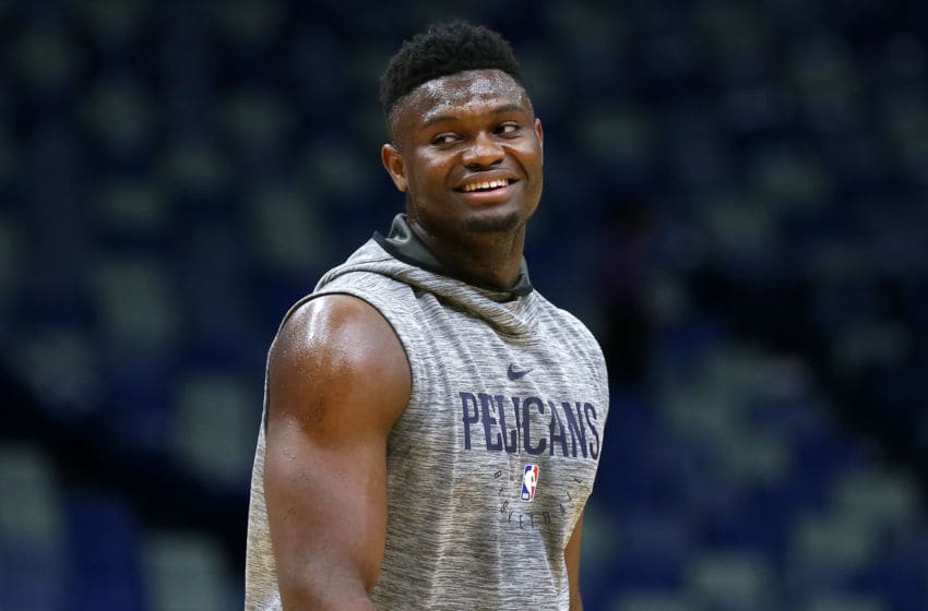 NBA New Orleans Pelicans Zion Williamson (Photo by Jonathan Bachman/Getty Images)