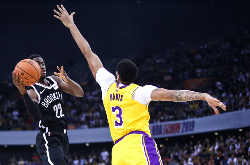 NBA Los Angeles Lakers Anthony Davis(Photo by Zhong Zhi/Getty Images)