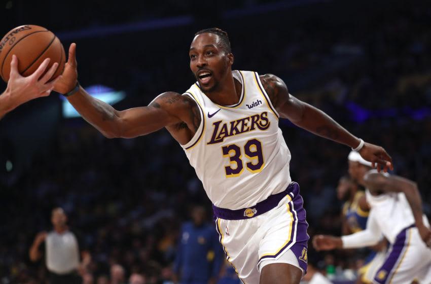 NBA Los Angeles Lakers Dwight Howard (Sean M. Haffey/Getty Images)