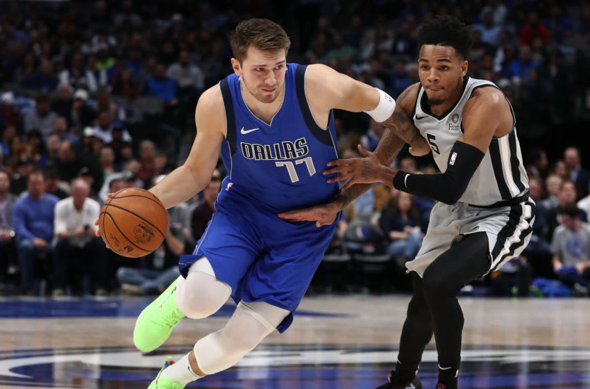 NBA Dallas Mavericks Luka Doncic (Photo by Ronald Martinez/Getty Images)
