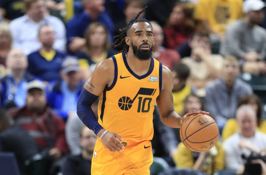 NBA Utah Jazz Mike Conley (Photo by Andy Lyons/Getty Images)