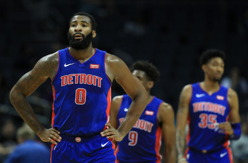 NBA Detroit Pistons Andre Drummond(Photo by Streeter Lecka/Getty Images)
