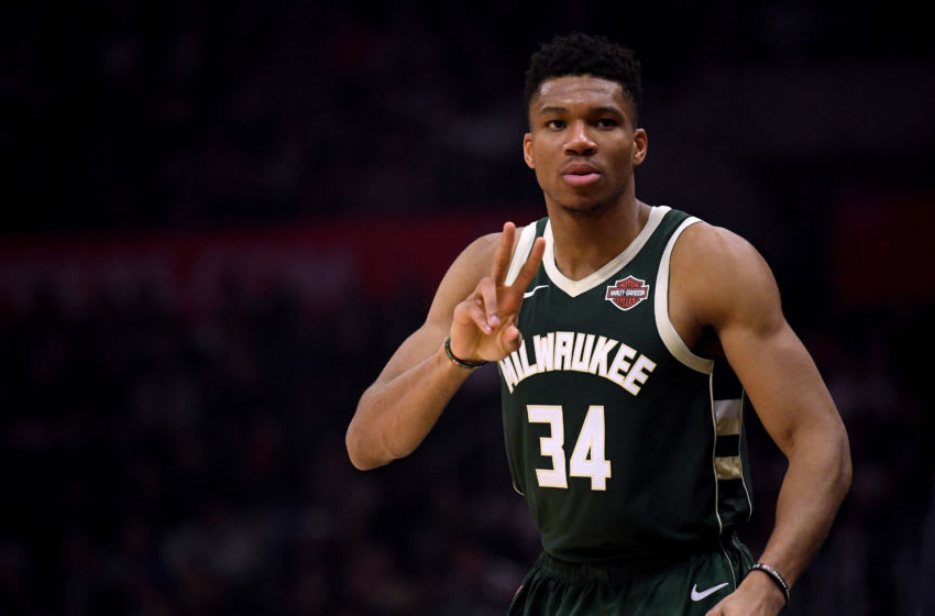 NBA Milwaukee Bucks forward Giannis Antetokounmpo (Photo by Harry How/Getty Images)