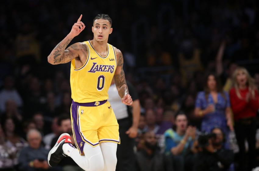NBA Los Angeles Lakers Kyle Kuzma (Photo by Sean M. Haffey/Getty Images)
