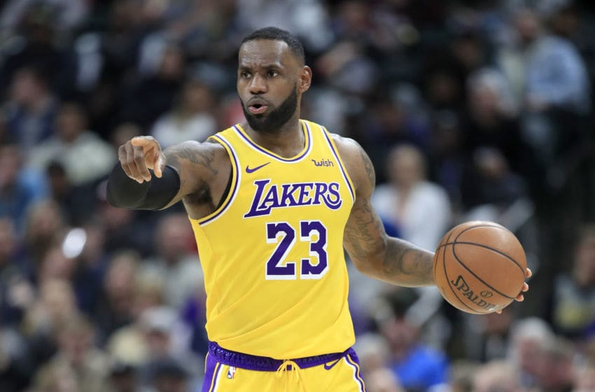 NBA Los Angeles Lakers LeBron James (Photo by Andy Lyons/Getty Images)
