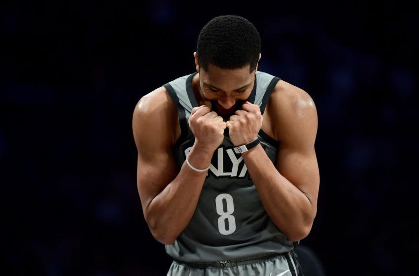 NBA Brooklyn Nets Spencer Dinwiddie (Photo by Emilee Chinn/Getty Images)