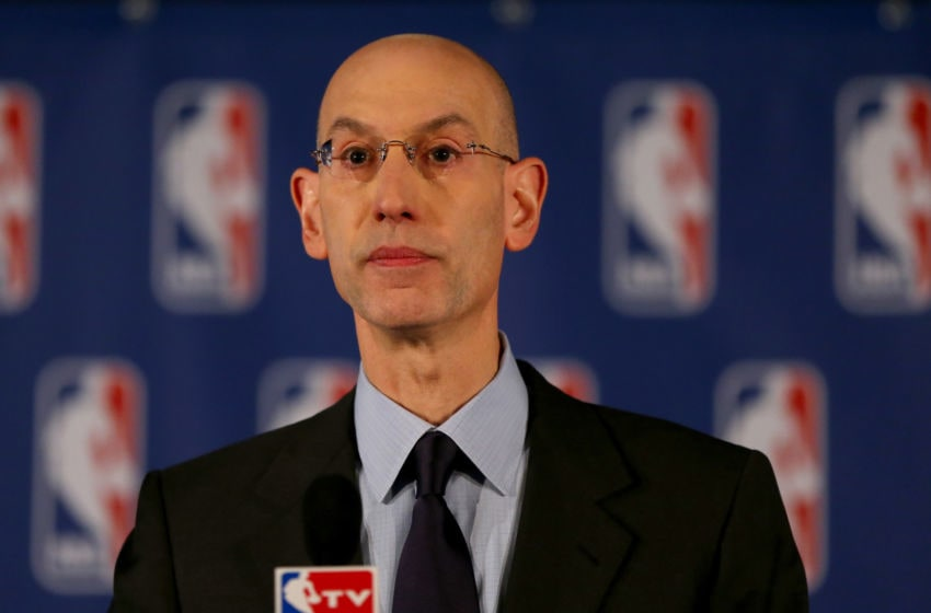 NBA Commissioner Adam Silver (Photo by Elsa/Getty Images)