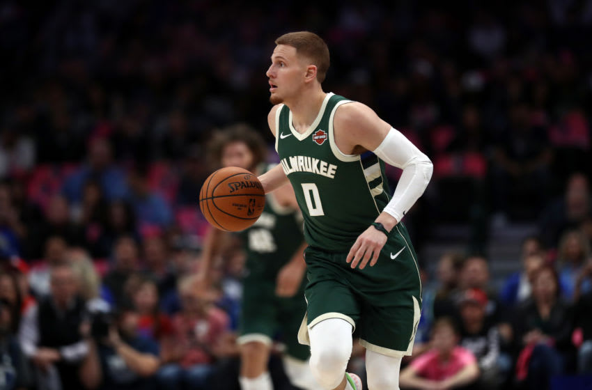 Milwaukee Bucks Donte DiVincenzo (Photo by Ronald Martinez/Getty Images)