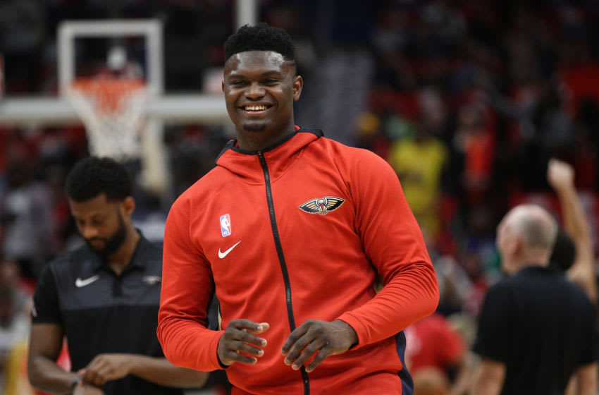 NBA New Orleans Pelicans Zion Williamson (Photo by Chris Graythen/Getty Images)