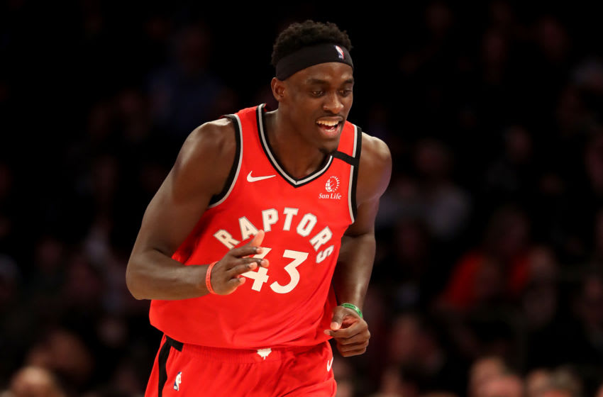 NBA Toronto Raptors Pascal Siakam (Photo by Elsa/Getty Images)
