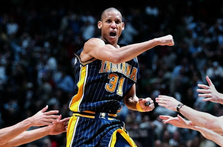 NBA Indiana Pacers Reggie Miller (MATT CAMPBELL/AFP via Getty Images)