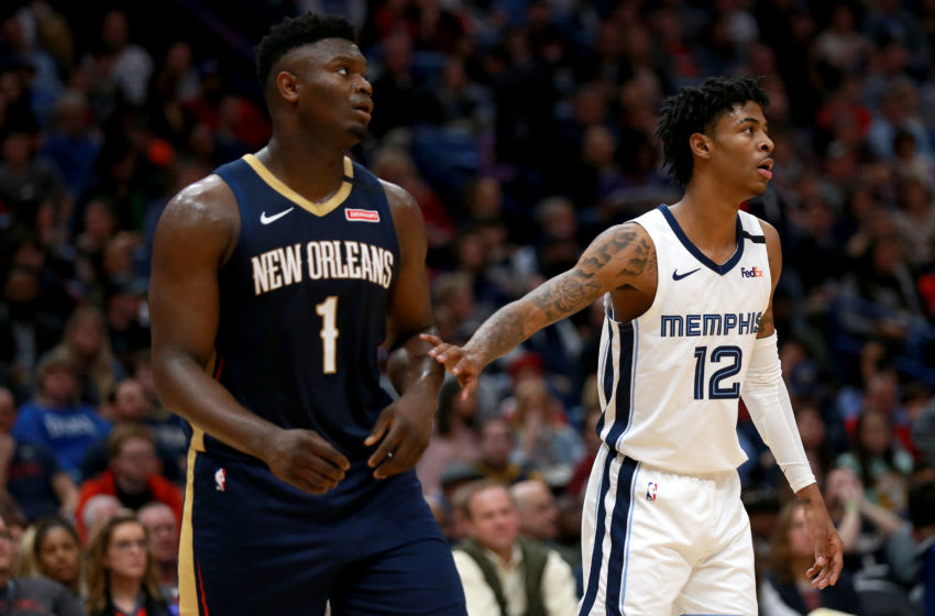 NBA New Orleans Pelicans Zion Williamson (Photo by Sean Gardner/Getty Images)