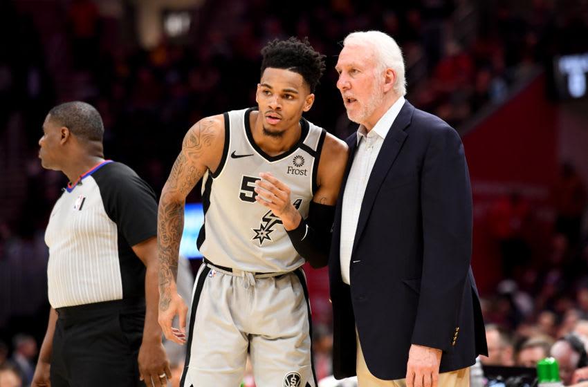 San Antonio Spurs Dejounte Murray (Photo by Jason Miller/Getty Images)