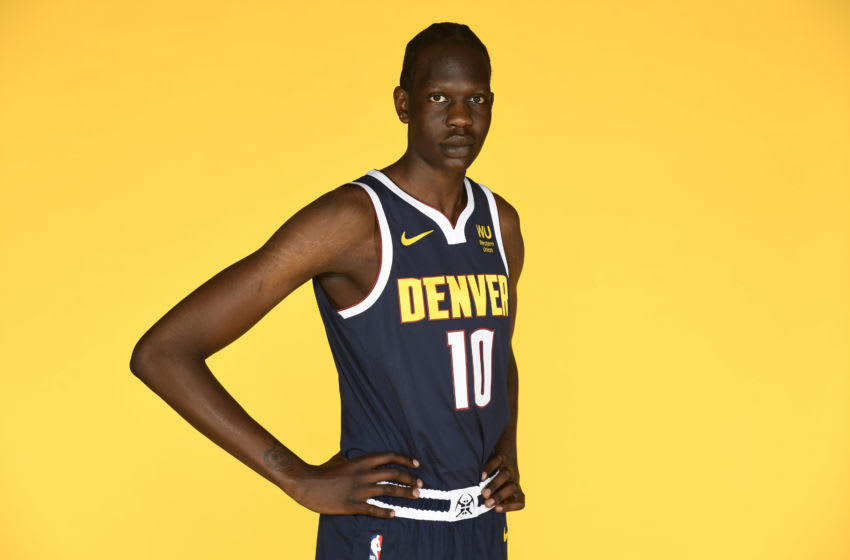 Bol Bol didn't disappoint in his professional debut.