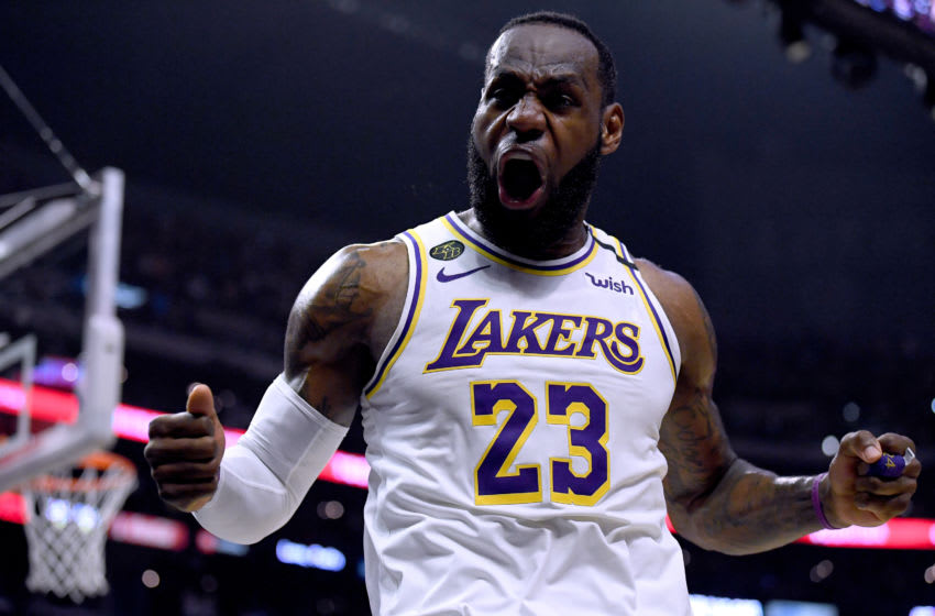 Los Angeles Lakers LeBron James (Photo by Harry How/Getty Images)