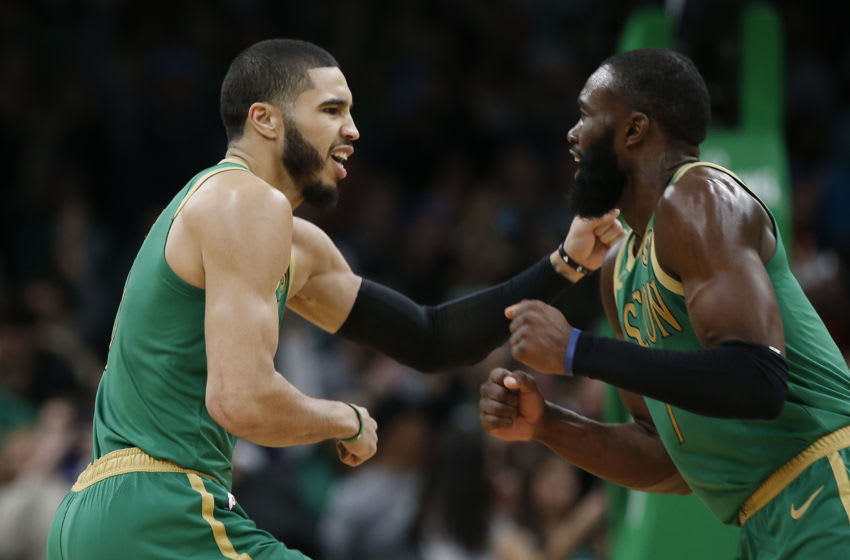 Boston Celtics Jayson Tatum and Jaylen Brown ( Winslow Townson-USA TODAY Sports