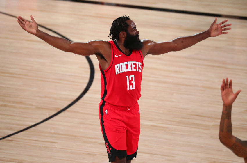 Houston Rockets James Harden (Kim Klement-USA TODAY Sports)