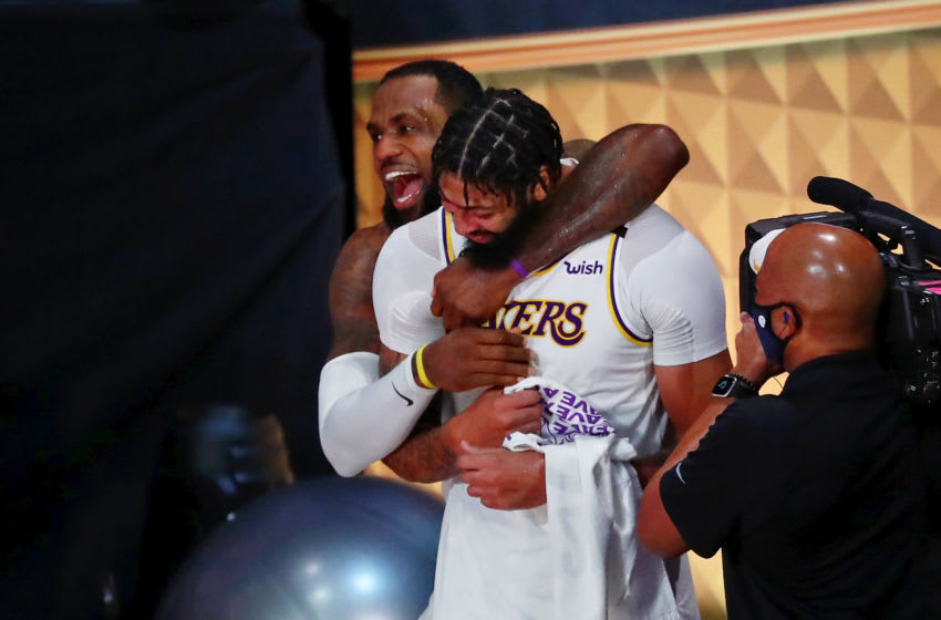 Los Angeles Lakers LeBron James and Anthony Davis (Kim Klement-USA TODAY Sports)