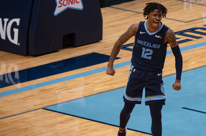 NBA Memphis Grizzlies Ja Morant (Justin Ford-USA TODAY Sports)
